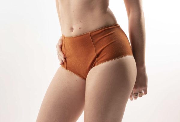 culotte haute résille lurex 5